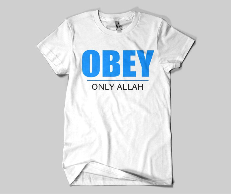 Obey Only Allah T-shirt - GetDawah Muslim Clothing
