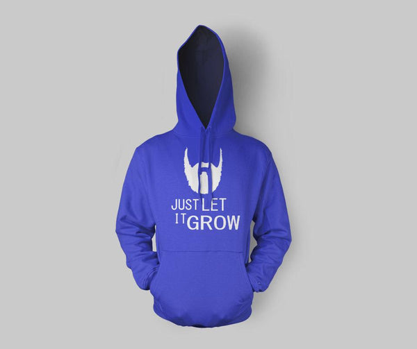 Just Let It Grow Hoodie - GetDawah Muslim Clothing
