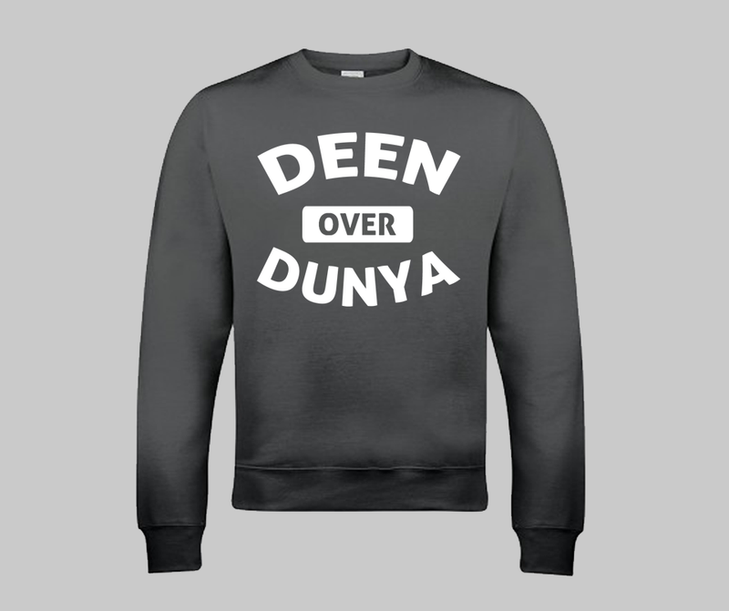 Deen Over Dunya - GetDawah Muslim Clothing