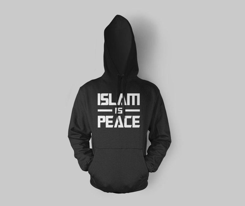 Islam is Peace Hoodie - GetDawah Muslim Clothing