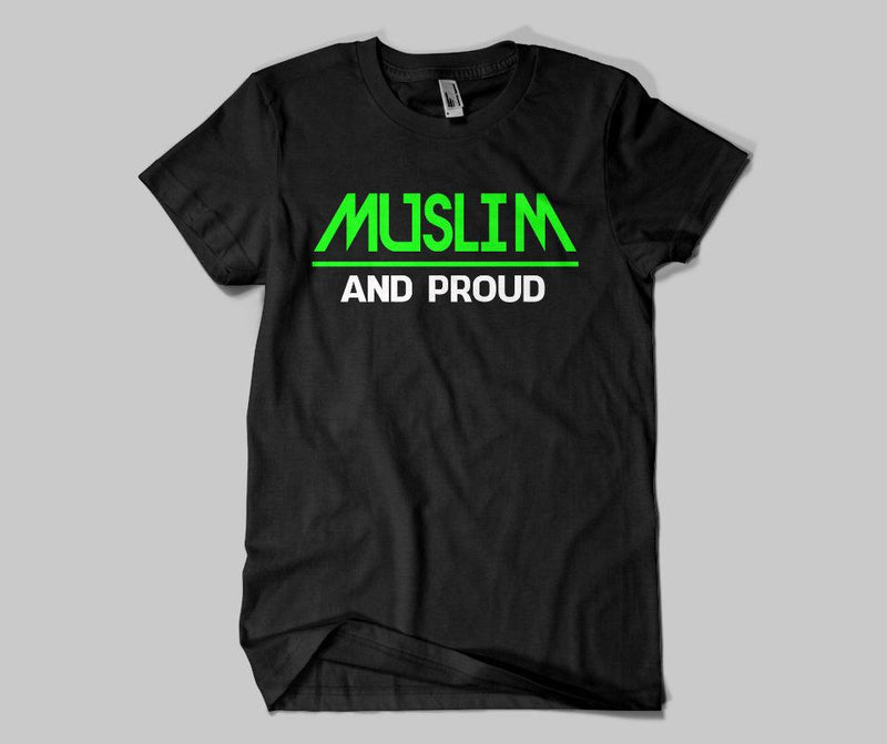 Muslim & Proud T-shirt - GetDawah Muslim Clothing