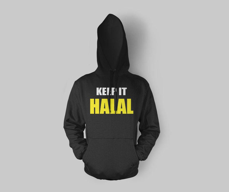 Keep It Halal Hoodie - GetDawah Muslim Clothing
