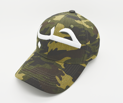 Hub Camo Cap (3D Embroidery) - CLEARANCE - GetDawah Muslim Clothing