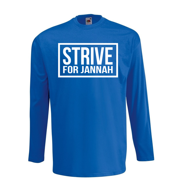 Strive For Jannah - NEW - GetDawah Muslim Clothing