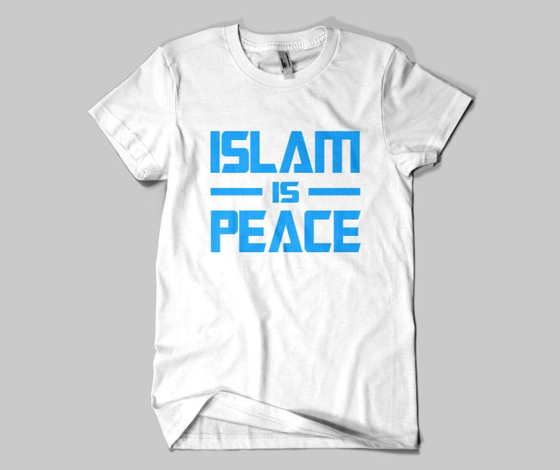 Islam Is Peace T-shirt - GetDawah Muslim Clothing