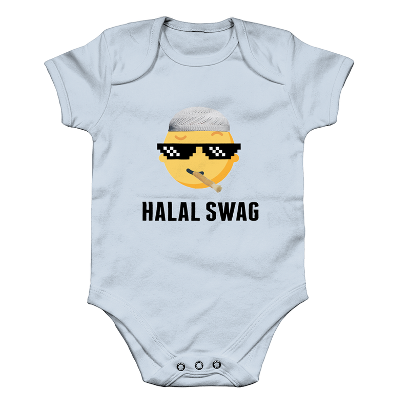 Halal Swag - Baby Grow (NEW) - GetDawah Muslim Clothing