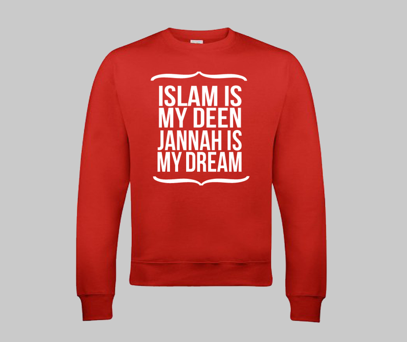 Islam is my Deen Sweatshirt - GetDawah Muslim Clothing