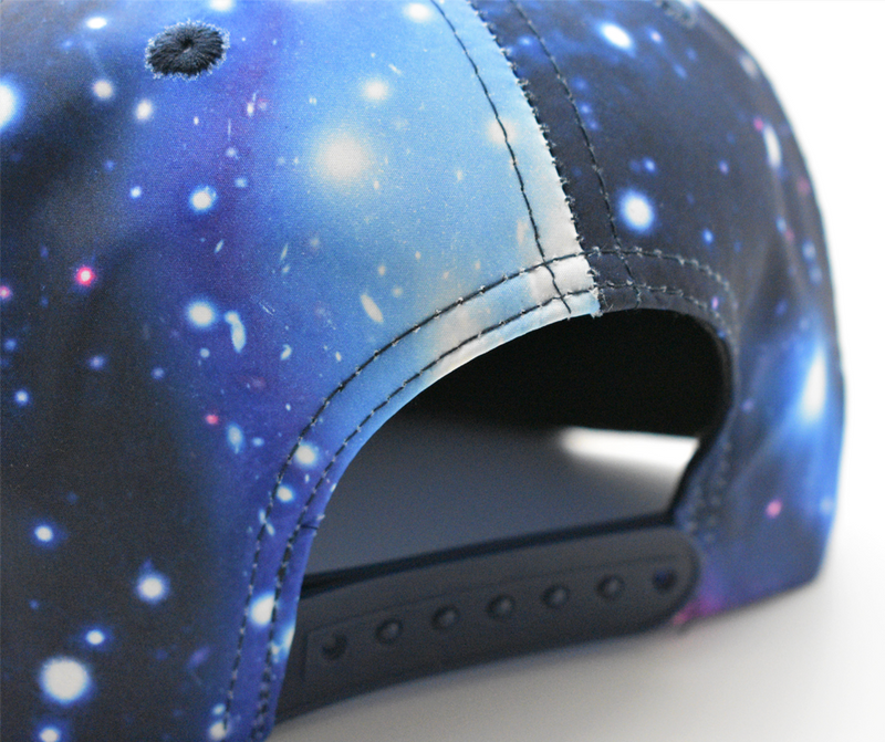 SalamPeace Galaxy Snapback in 3D Embroidery - GetDawah Muslim Clothing