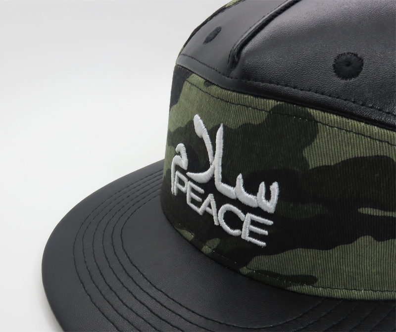 SalamPeace Camo Snapback - ON CLEARANCE - GetDawah Muslim Clothing