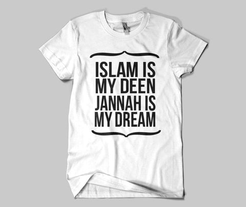 386f60aa88d Islam Is My Deen T-shirt - GetDawah Muslim Clothing