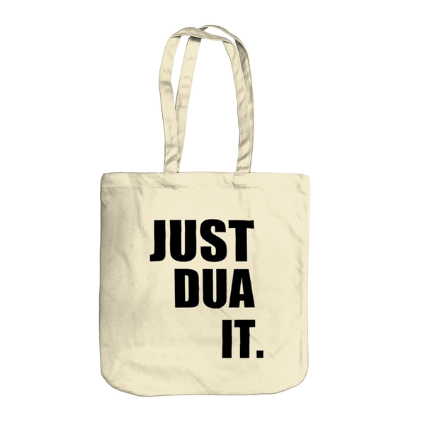 Just Dua It Tote Bag (NEW) - GetDawah Muslim Clothing