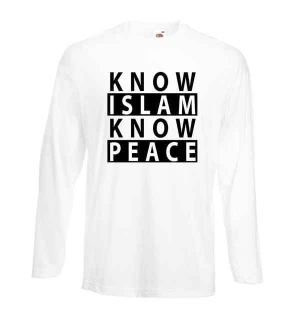 Know Islam Know Peace - GetDawah Muslim Clothing