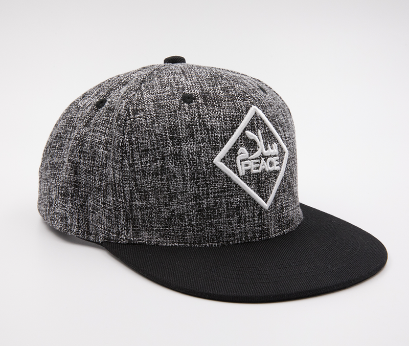 SalamPeace Snapback (3D Embroidery) - GetDawah Muslim Clothing