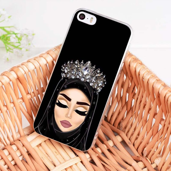 Hijabi Crown Phone Case For iPhone & Samsung - GetDawah Muslim Clothing