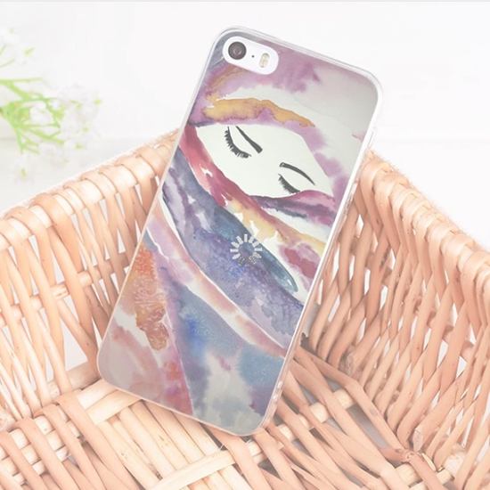 Muslim Women Art Phone Case For iPhone & Samsung (NEW) - GetDawah Muslim Clothing