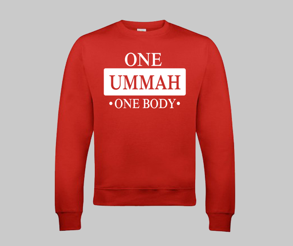 One ummah one body Sweatshirt - GetDawah Muslim Clothing