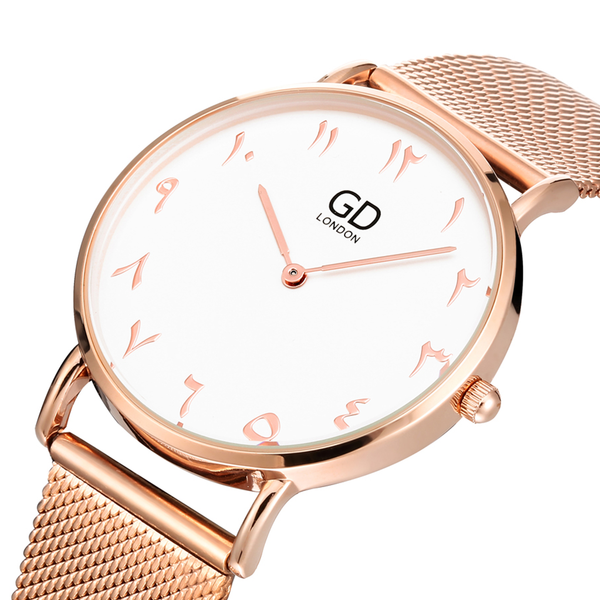 Luxury Unisex Rose Gold Watch - GetDawah Muslim Clothing