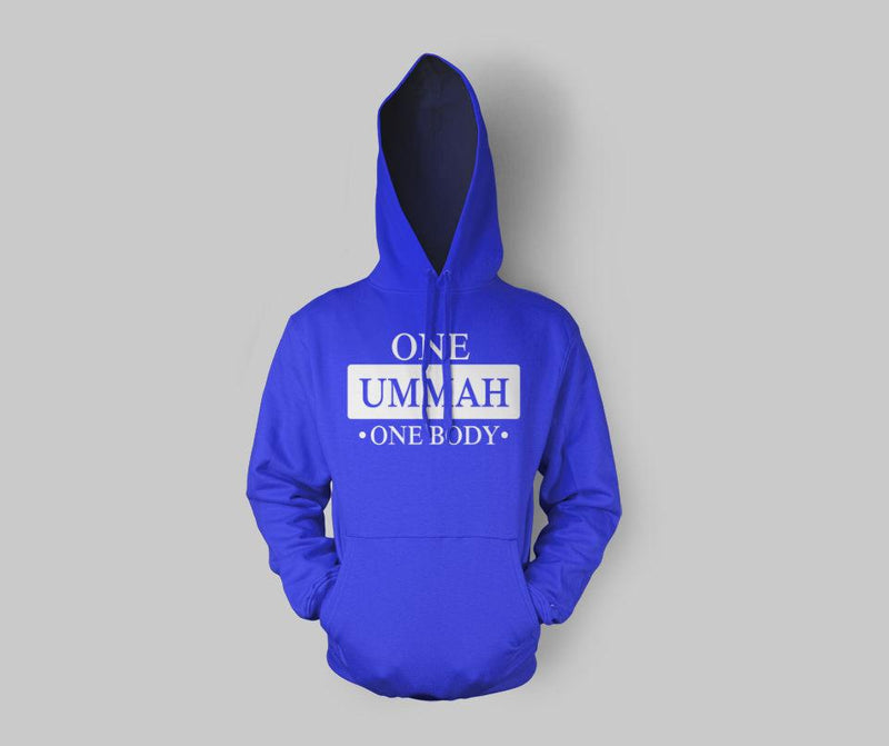 One Ummah One Body Hoodie - GetDawah Muslim Clothing