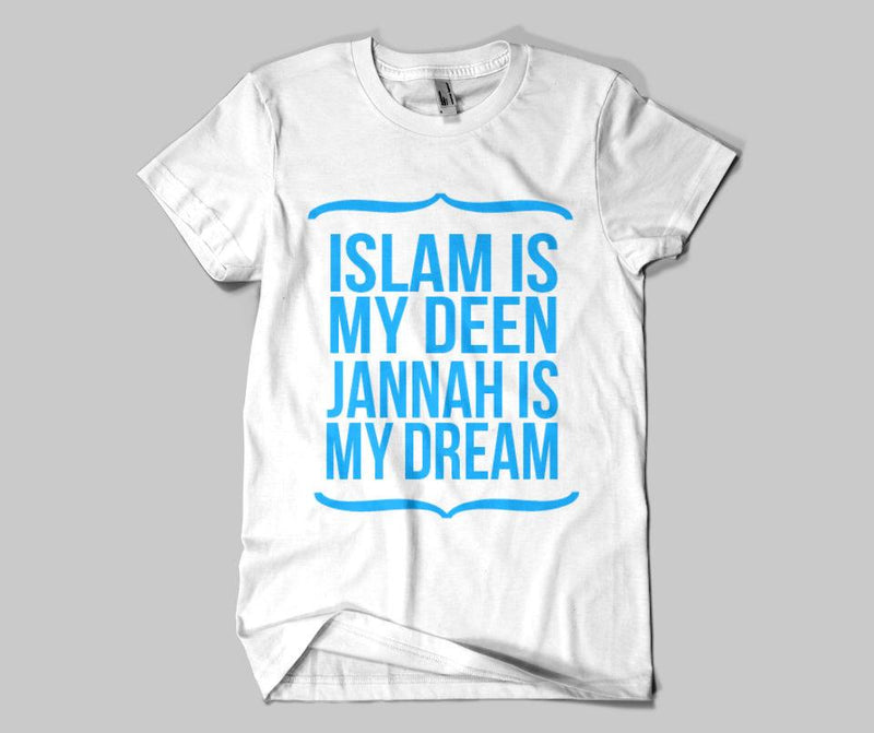 Islam Is My Deen T-shirt - GetDawah Muslim Clothing