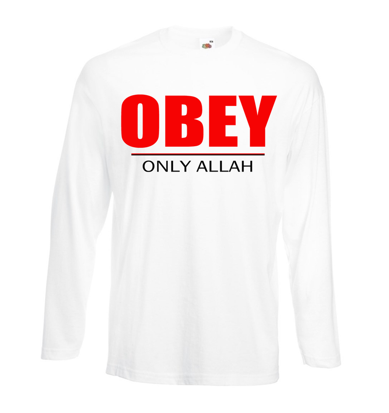 Obey Only Allah - GetDawah Muslim Clothing