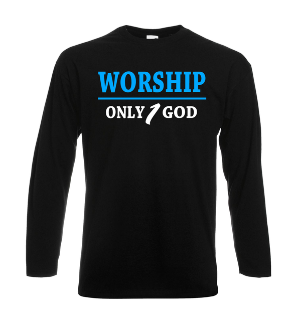Worship God - GetDawah Muslim Clothing