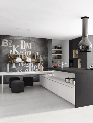 Top 5 Pinterest Black White Kitchen Interior Design Pictures
