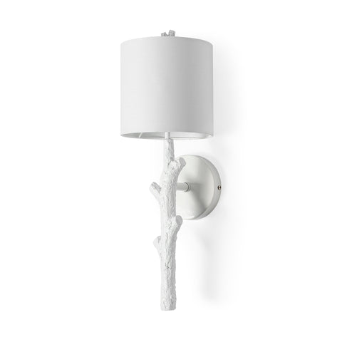 Sabinal Wall Sconce - White