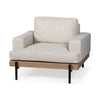 Colburne Upholstered Chair - Beige Fabric