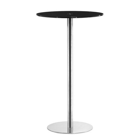Cyclone Bar Table Black - Adore Interiors