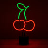 CHERRIES EMOJI DESK NEON LIGHT