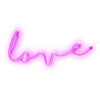 LOVE LED NEON WALL LIGHT (MAGENTA)