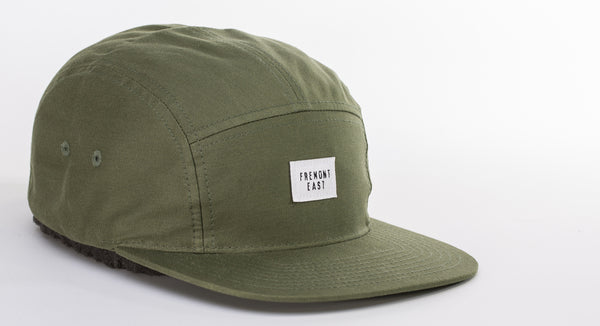 FREMONT EAST 5 PANEL // ARMY OLIVE