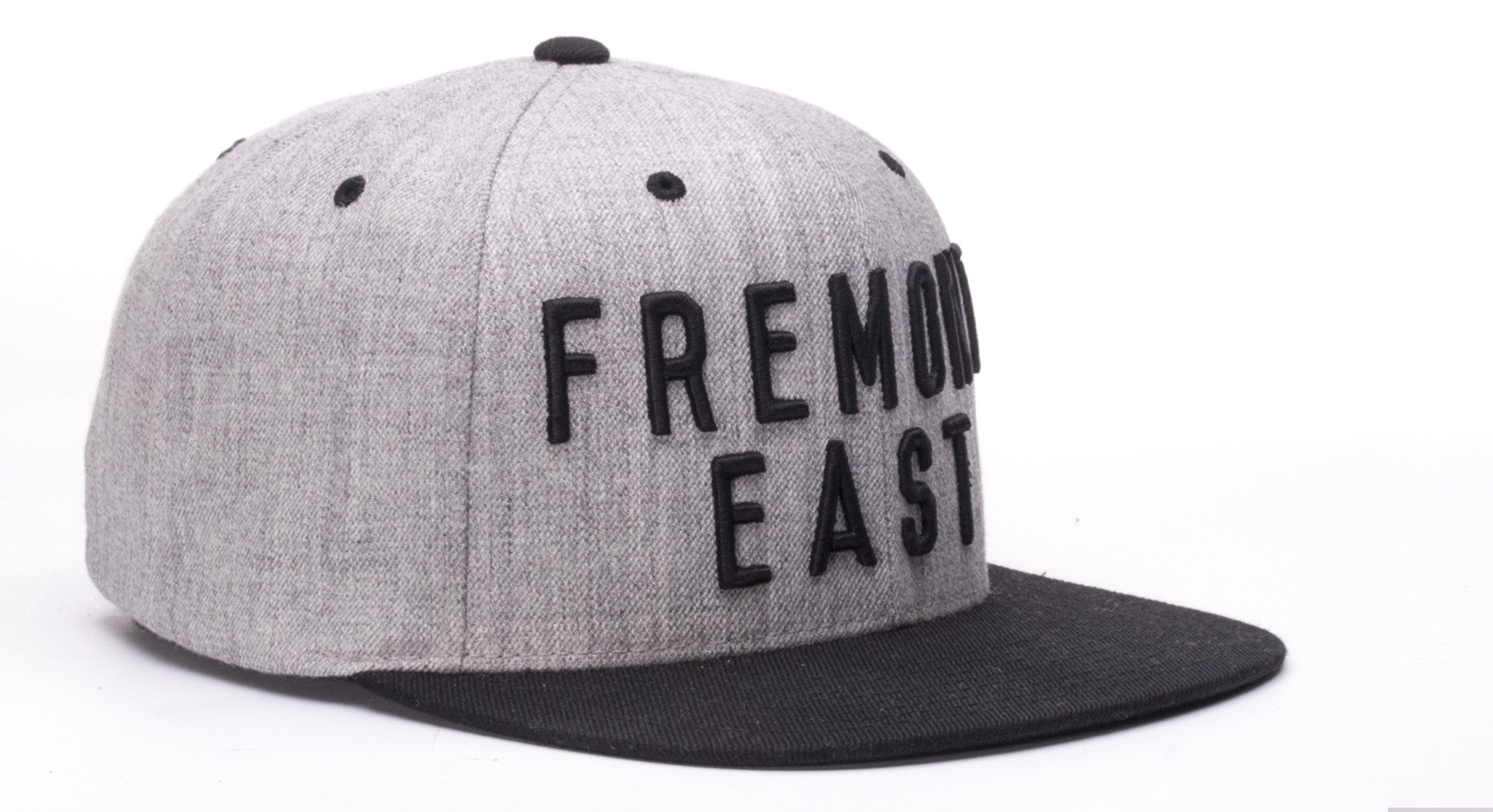 FREMONT EAST STAPLE // HEATHER GREY & BLACK