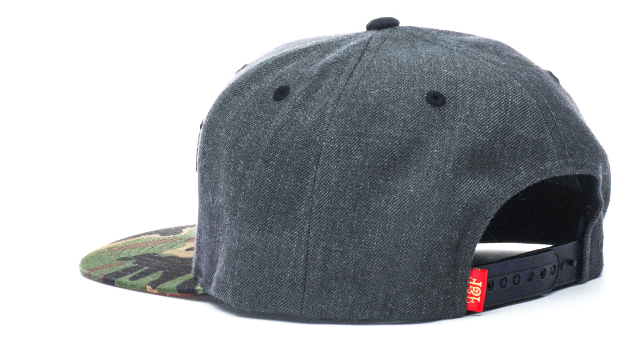 FREMONT EAST LIMITED // CHARCOAL & CAMO | SNAPBACK