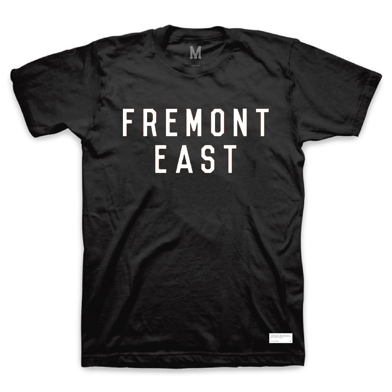 FREMONT EAST TEE // BLACK & WHITE