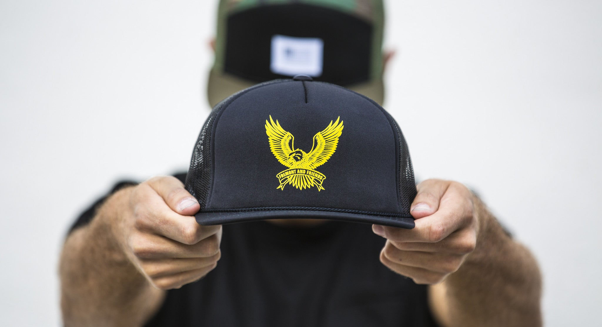 BATTLE BORN EAGLE // BLACK & GOLD