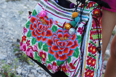 How to make a reversible summer tote bag