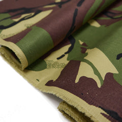 Camouflage drill fabric