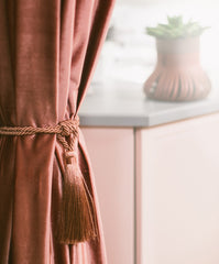 Curtain accessories header tape hooks curtain weights tie-backs