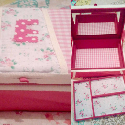 Jewellery Box - Hot Pink Haberdashery