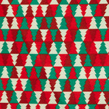 Colourful Christmas tree repeat - Extra Wide - 100% Cotton fabric
