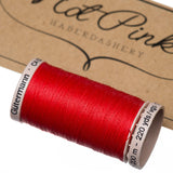 200m Gutermann Cotton Quilting Thread: Reds & Pinks - Hot Pink Haberdashery  - 2