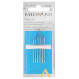 Milward Hand Sewing TAPESTRY Needles: Nos. 18-24