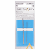 Milward Hand Sewing TAPESTRY Needles: Nos. 14-18