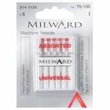 Milward Sewing Machine Needles - Universal Selection