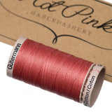200m Gutermann Cotton Quilting Thread: Reds & Pinks - Hot Pink Haberdashery  - 3
