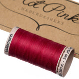 200m Gutermann Cotton Quilting Thread: Reds & Pinks - Hot Pink Haberdashery  - 4