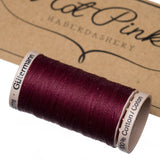 200m Gutermann Cotton Quilting Thread: Reds & Pinks - Hot Pink Haberdashery  - 8