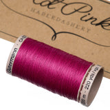 200m Gutermann Cotton Quilting Thread: Reds & Pinks - Hot Pink Haberdashery  - 9