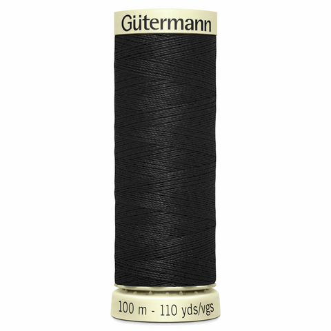 Gutermann Sew All 100m Colour 000 Black